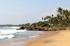 пляж beauatiful Стоковая Фотография RF