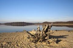 Пляж Benacre, суффольк, Англия Стоковая Фотография
