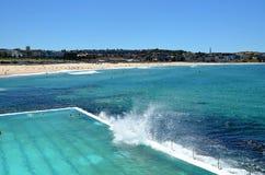Пляж Bondi в Сидней, Австралии стоковые фото