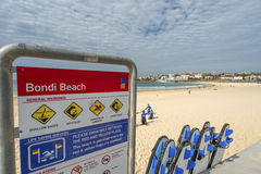Пляж Bondi Стоковое Изображение