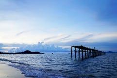 Пляж Bophut, Samui Стоковое Изображение