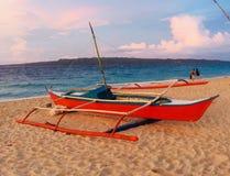 Пляж Boracay раковины Puka Стоковая Фотография