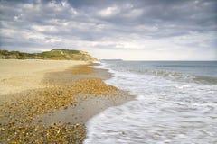 пляж bournemouth dorset Англия Стоковое Фото