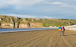 пляж brean Стоковое фото RF