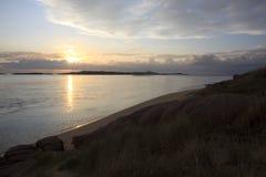 Пляж Bunbeg стоковая фотография rf