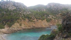Пляж Cala D& x27 Мальорки; эго Стоковые Изображения RF