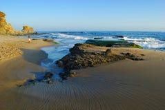 пляж california laguna Стоковые Изображения RF