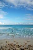 пляж cancun Мексика Стоковое Фото