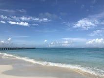 Пляж Cancun Стоковые Фотографии RF