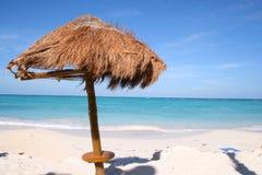 пляж cancun Стоковые Фото