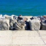 Пляж Caorle Стоковое Изображение RF