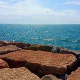 Пляж Caorle Стоковая Фотография