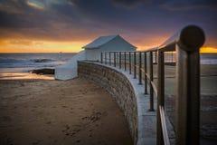 Пляж Carcavelos Стоковая Фотография RF