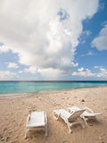 пляж caribbean Стоковая Фотография RF
