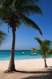 пляж caribbean Стоковое Изображение