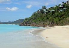 пляж caribbean Стоковые Изображения