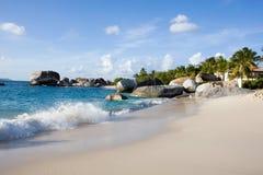 пляж caribbean Стоковое фото RF