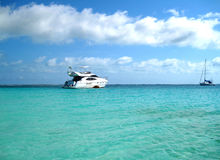 пляж caribbean Стоковое Фото