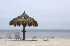 пляж carribean Стоковые Фотографии RF