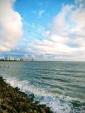 Пляж Clearwater Стоковые Фото