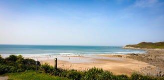 Пляж Combsgate стоковые фото