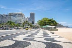 Пляж Copacabana - Рио-де-Жанейро, Бразилия стоковая фотография rf