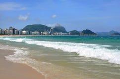 Пляж Copacabana стоковая фотография rf