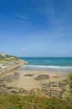 пляж cornish стоковые изображения