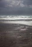 пляж cymryan Стоковые Фото