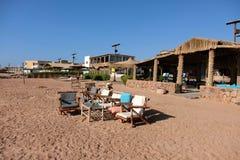 Пляж Dahab на Красном Море, Синай стоковое фото rf
