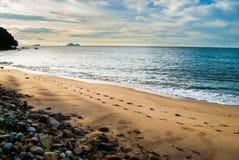 Пляж Damai стоковые фотографии rf