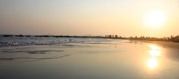 пляж danang Вьетнам Стоковое Фото