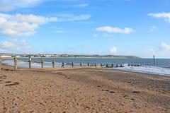 Пляж Dawlish Уоррена, Девон Стоковое Изображение