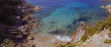 пляж di gallura santa teresa Стоковые Фотографии RF