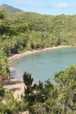 пляж dominica batibou Стоковое Изображение