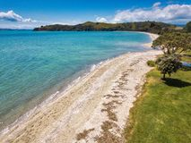 Пляж Dudersi, Окленд Новая Зеландия Стоковое Изображение RF