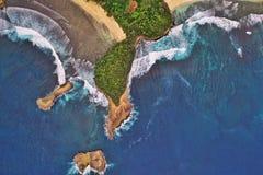 Пляж East Java Индонезия Balekambang стоковое изображение rf