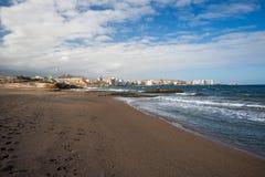 Пляж El Medano Тенерифе, Испания Стоковые Фото