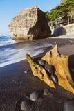 Пляж El Tunco в Сальвадоре Стоковое Фото