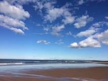 Пляж Elgin Стоковое фото RF