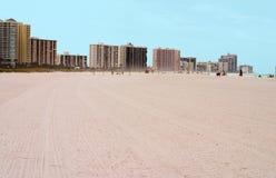 пляж florida Тампа зоны Стоковое Изображение