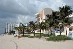 пляж florida Стоковое Изображение