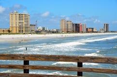 пляж florida jacksonville Стоковое Изображение