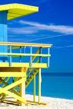 пляж florida miami США Стоковая Фотография