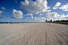 пляж florida miami Стоковые Изображения