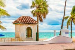 Пляж Fort Lauderdale, Флорида стоковые изображения rf
