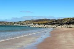 Пляж Gairloch, Gairloch, западная Шотландия стоковые фотографии rf