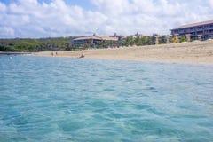 Пляж geger Pura bali Индонесия стоковая фотография