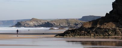 пляж Great Western стоковое фото rf