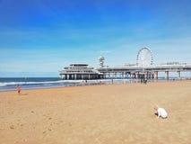Пляж Haag вертепа стоковые изображения